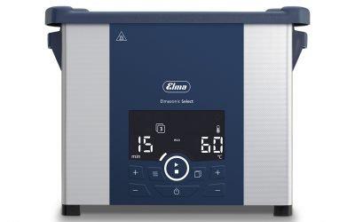the new elmasonic select ultrasonic cleaner